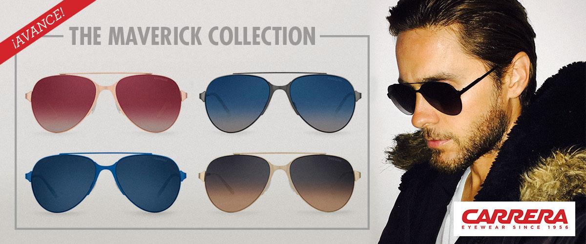 b11b2b2907 Les lunettes Carrera Mavericks sont inspirées des lunettes de soleil les  plus emblématiques de la maison, crées en 1956 par Wilhem Anger.